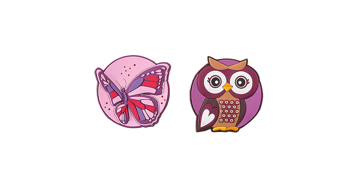 Patches Butterfly & Olivia Owl lila-kombi