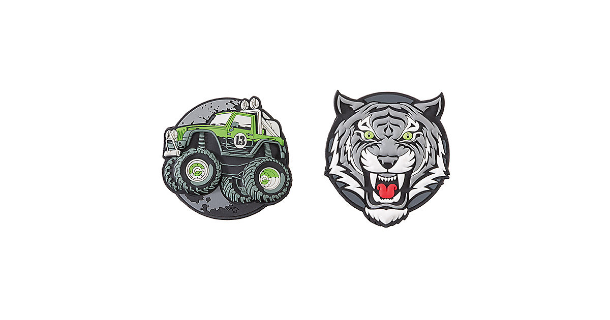 Patches Offroad & Tiger mehrfarbig