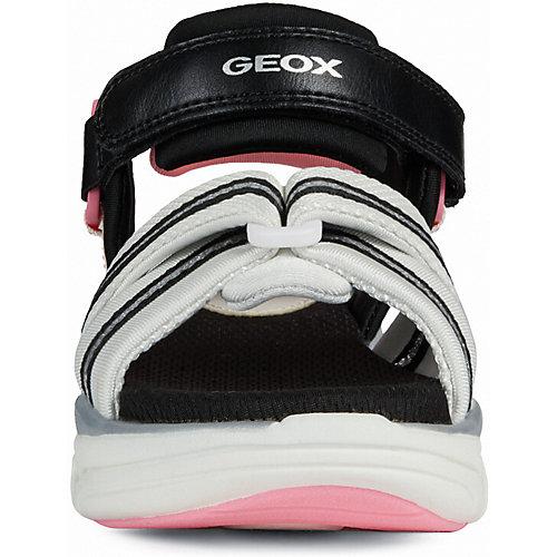 Сандалии Geox - черный/розовый от GEOX