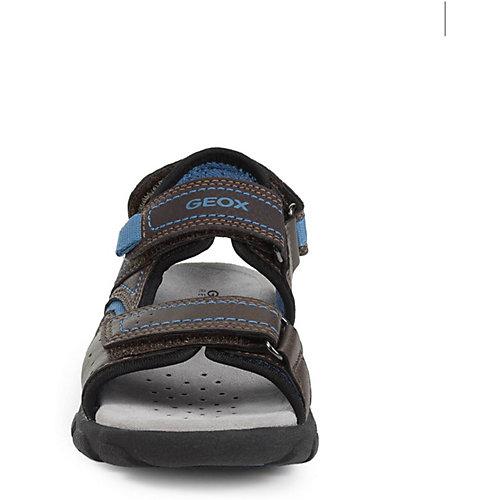 Сандалии Geox - коричнево-синий от GEOX
