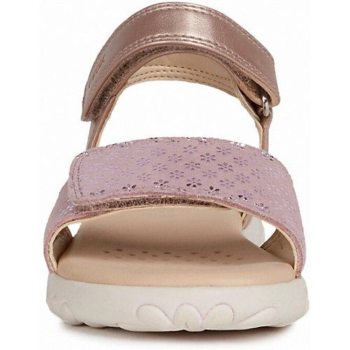 Сандалии Geox - блекло-розовый от GEOX