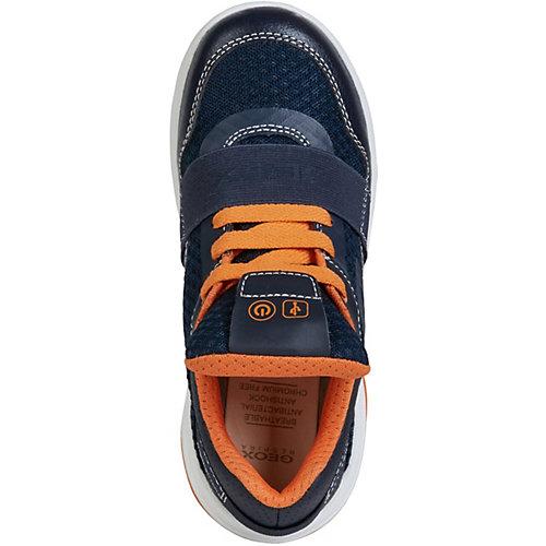 Кроссовки Geox - синий/оранжевый от GEOX