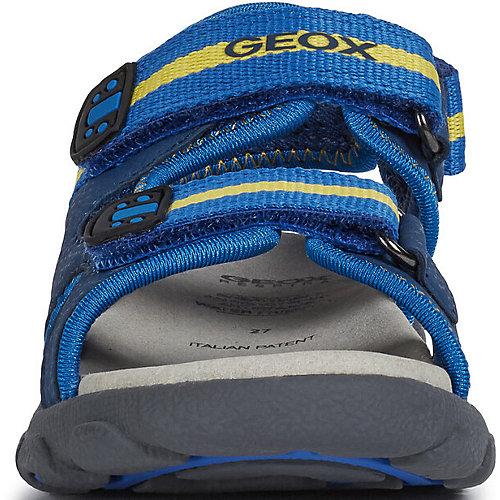Сандалии Geox - сине-жёлтый от GEOX