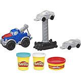 Игровой набор Play-Doh Wheels Эвакуатор
