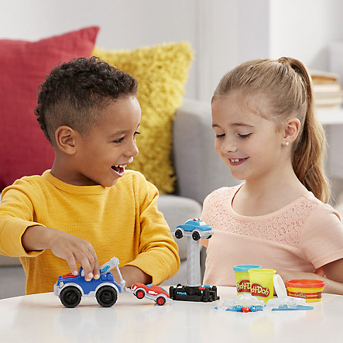Игровой набор Play-Doh Wheels Эвакуатор от Hasbro