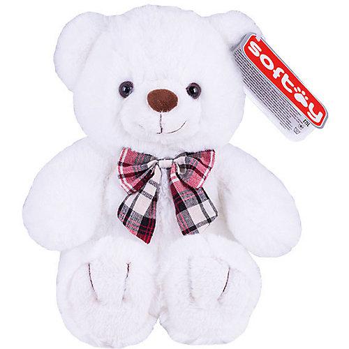 Мягкая игрушка Softoy Медведь белоснежный, 30 см от Softoy