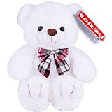 Мягкая игрушка Softoy Медведь белоснежный, 30 см