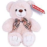 Мягкая игрушка Softoy Медведь бежевый, 30 см