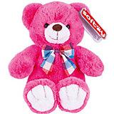 Мягкая игрушка Softoy Медведь розовый, 30 см