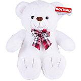 Мягкая игрушка Softoy Медведь белоснежный, 50 см