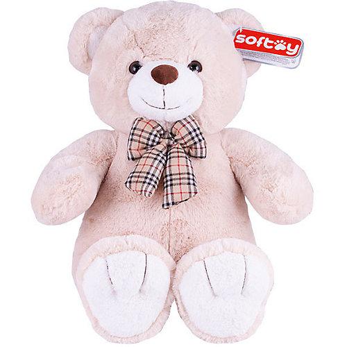 Мягкая игрушка Softoy Медведь бежевый, 50 см от Softoy