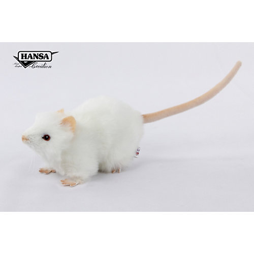 Мягкая игрушка Hansa Крыса белая  19 см от Hansa