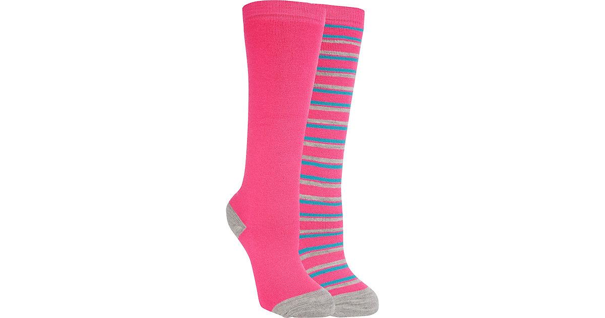 Doppelpack Sportsocken RIGO  pink Gr. 23-26 Mädchen Kleinkinder
