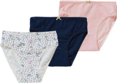 3er Pack Petit Bateau M/ädchen Unterhose