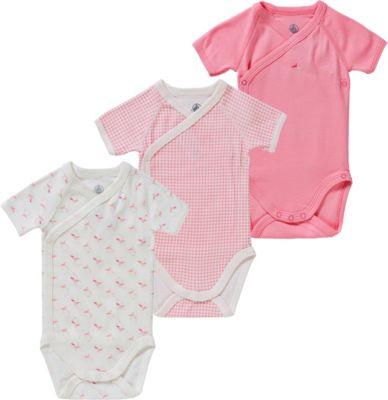 92  UVP 14,95 € 74 SANETTA Baby-Body  1//1 Arm türkis//rosa Gr