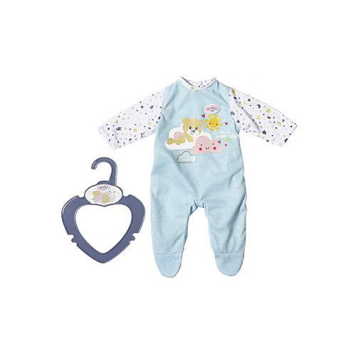 Одежда для куклы Zapf creation My little baby born Ночной комбинезончик, голубой от Zapf Creation