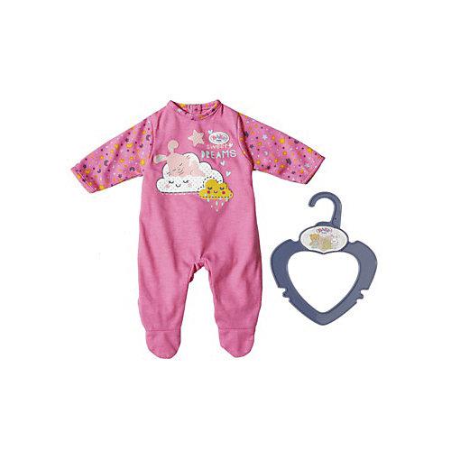 Одежда для куклы Zapf creation My little baby born Ночной комбинезончик, розовый от Zapf Creation