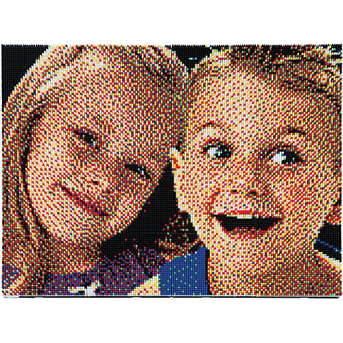 Пиксельная мозаика Quercetti Фото, 25200 деталей от Quercetti