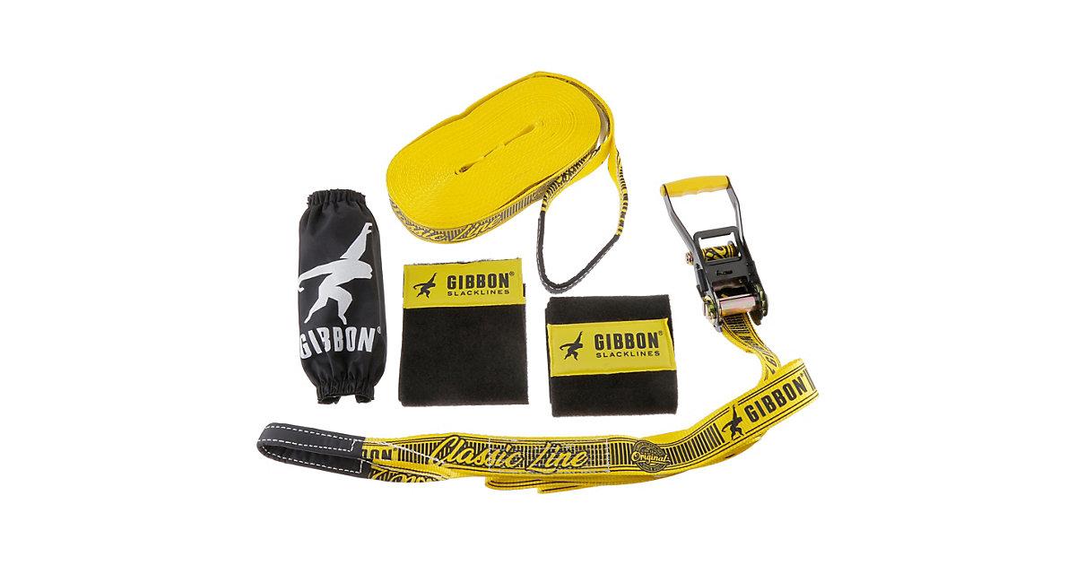 Image of Slackline classicline XL Treewear Damen, Herren, yellow