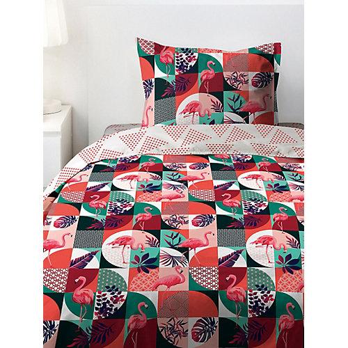 Детское постельное белье 1,5 сп 4 YOU Фламинго - розовый