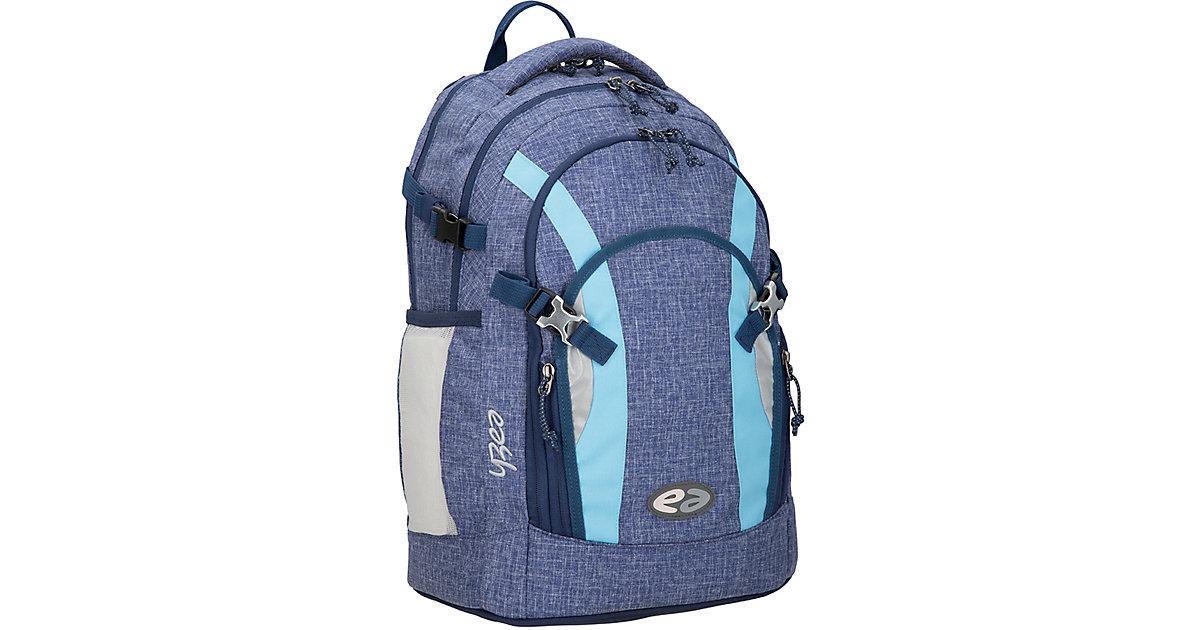 Schulrucksack ACE CASUAL, grau/dunkelblau