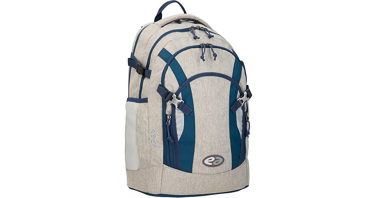 Schulrucksack ACE STEELE, grau/dunkelblau