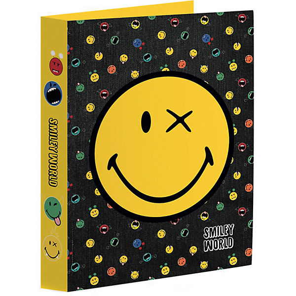 Ringbuch A4, Smiley World Crazy Things
