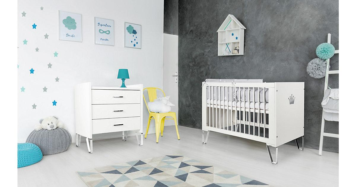 """Image of Babyzimmer Set """"Blanka"""" 2-teilig Weiß weiß"""