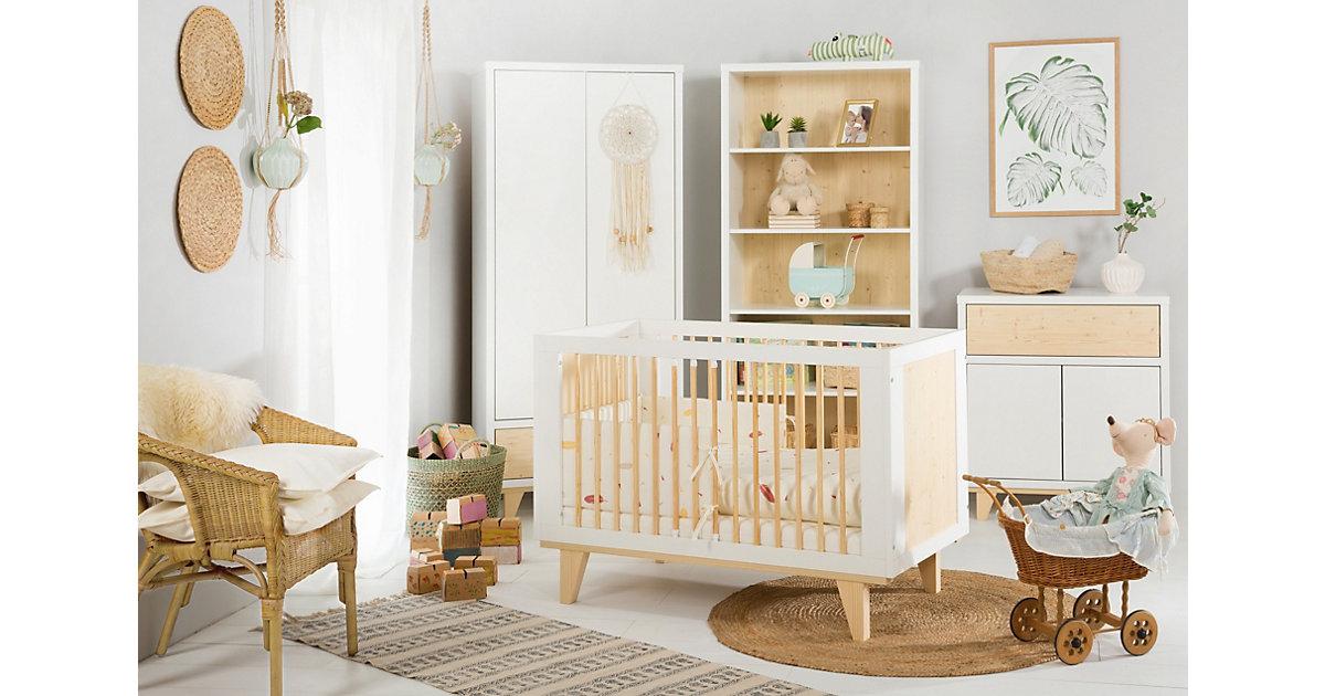"""Image of Babyzimmer """"Lydia"""" 3-teilig Weiß weiß"""