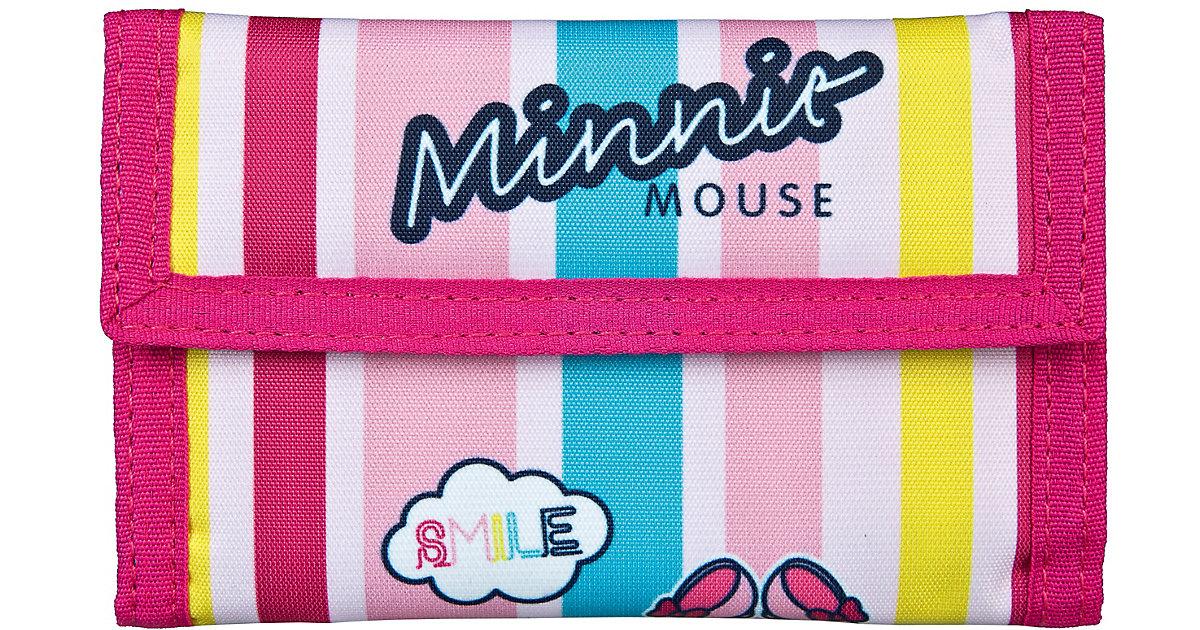 Geldbörse Minnie Mouse bunt Mädchen Kinder