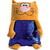 Мягкая игрушка Tallula Кот персиковый, 43 см