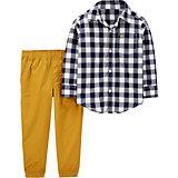 Комплект Carters: рубашка и брюки