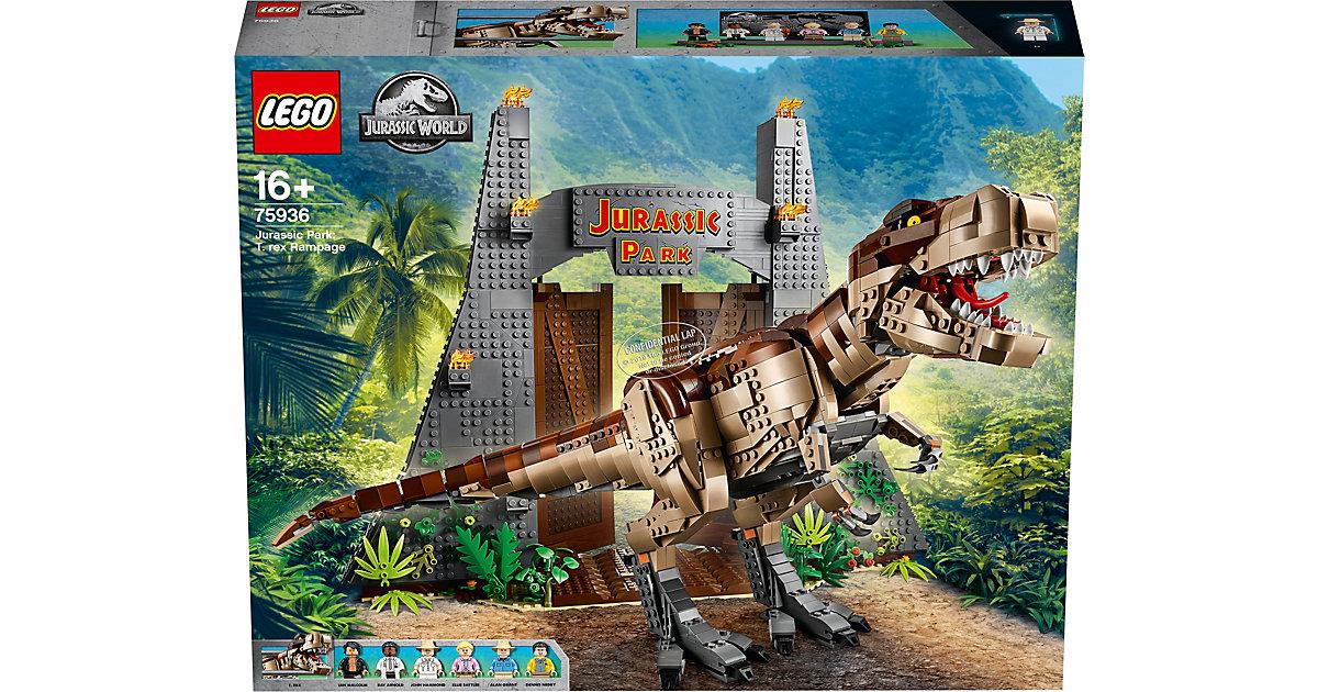 LEGO® 75936 Jurassic World™: Jurassic Park - T. Rex' Verwüstung