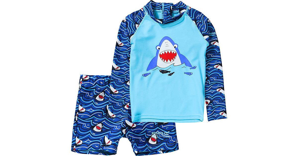 Kinder Schwimmanzug VALO RASH blau Gr. 86 Mädchen Kleinkinder
