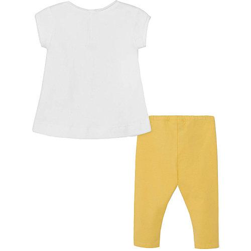Комплект Mayoral: футболка и леггинсы - желтый от Mayoral
