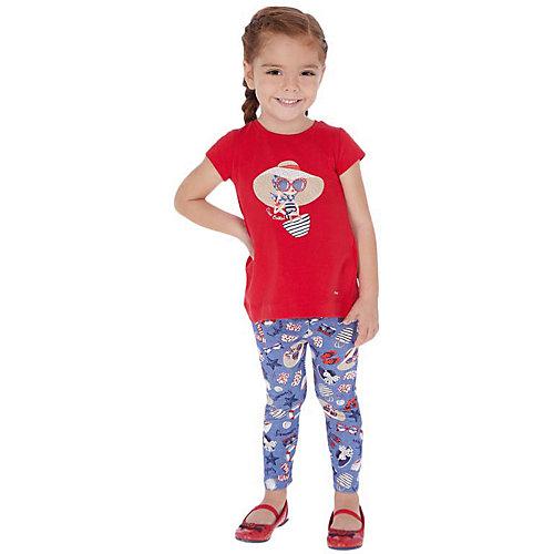 Комплект Mayoral: футболка и леггинсы - голубой от Mayoral
