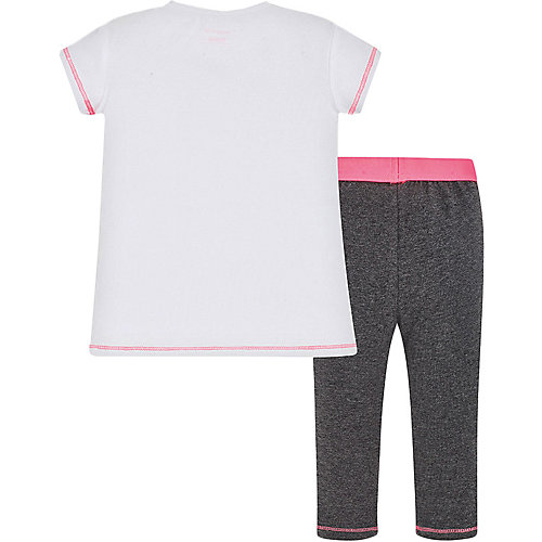 Комплект Mayoral: футболка и леггинсы - темно-серый от Mayoral