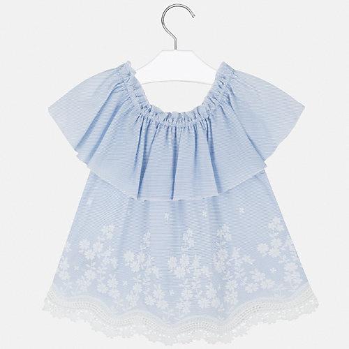 Блузка Mayoral - голубой от Mayoral