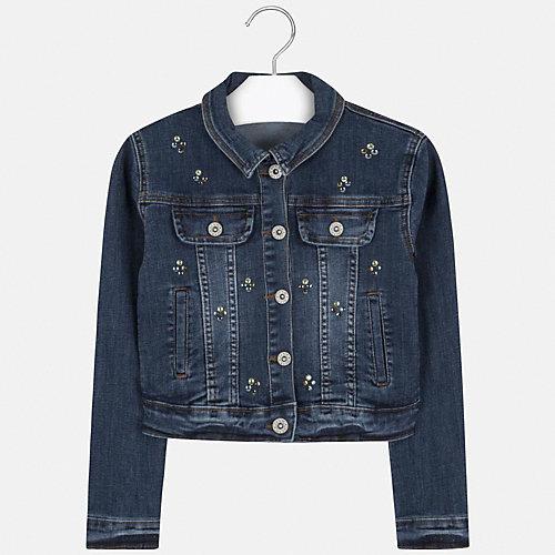 Джинсовая куртка Mayoral - темно-синий от Mayoral
