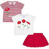 Комплект Mayoral: футболка 2 шт и юбка