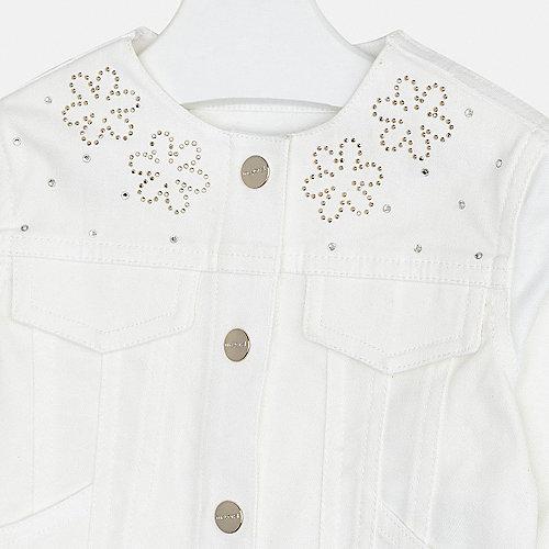 Джинсовая куртка Mayoral - бежевый от Mayoral