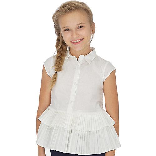 Блузка Mayoral - бежевый от Mayoral