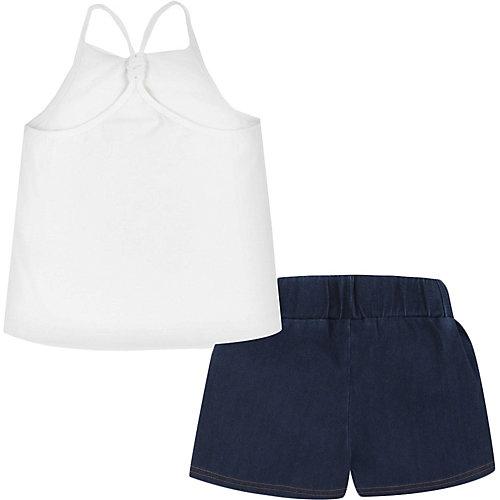 Комплект Mayoral: топ и шорты - белый от Mayoral