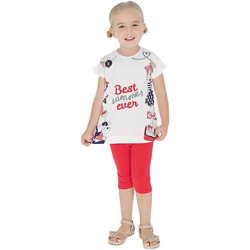 Комплект Mayoral: футболка и леггинсы - красный от Mayoral