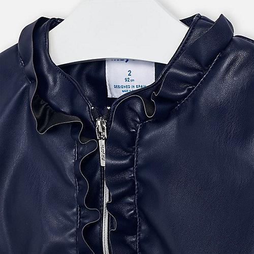 Кожаная куртка Mayoral - темно-синий от Mayoral
