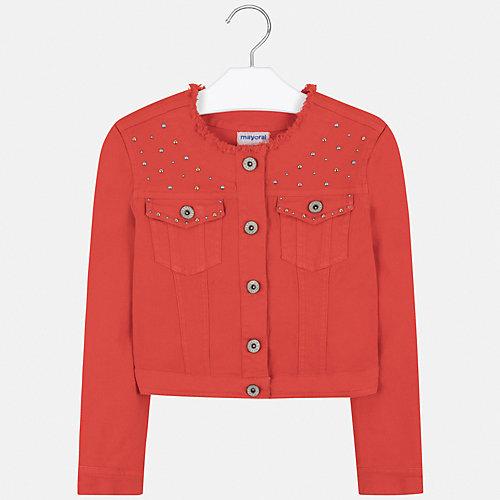 Джинсовая куртка Mayoral - оранжевый от Mayoral