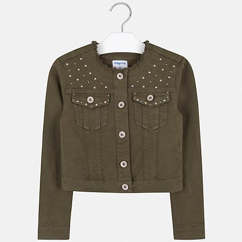 Джинсовая куртка Mayoral - зеленый от Mayoral