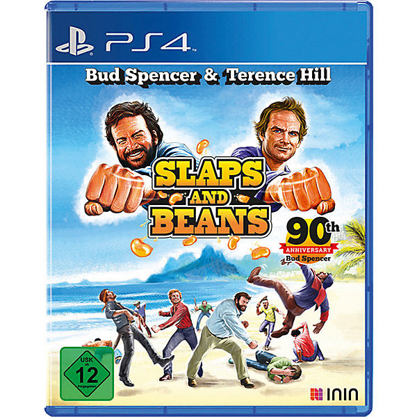 Ps4 Bud Spencer Terence Hill Slaps And Beans Anniversary Edition