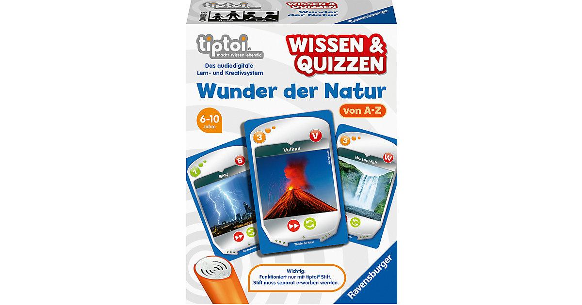 tiptoi® Wissen & Quizzen: Wunder der Natur (ohne Stift)