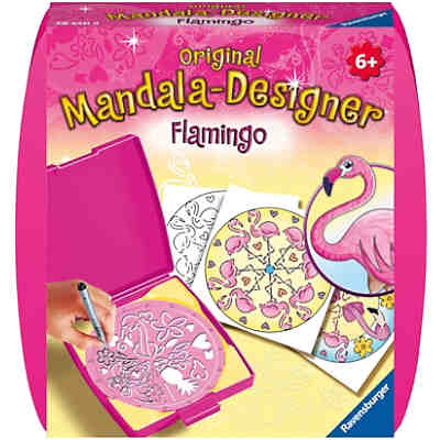 Original Mandala-Designer: Flamingo, Mini